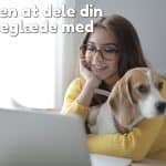 Find en at dele din hundeglæde med